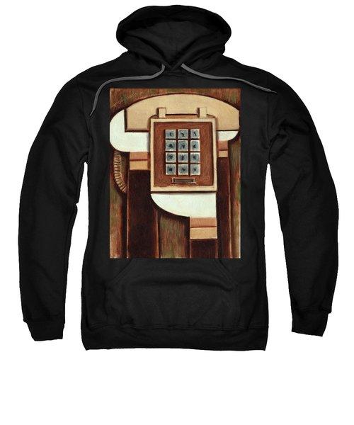 Tommervik Vintage Landline Phone Art Print Sweatshirt