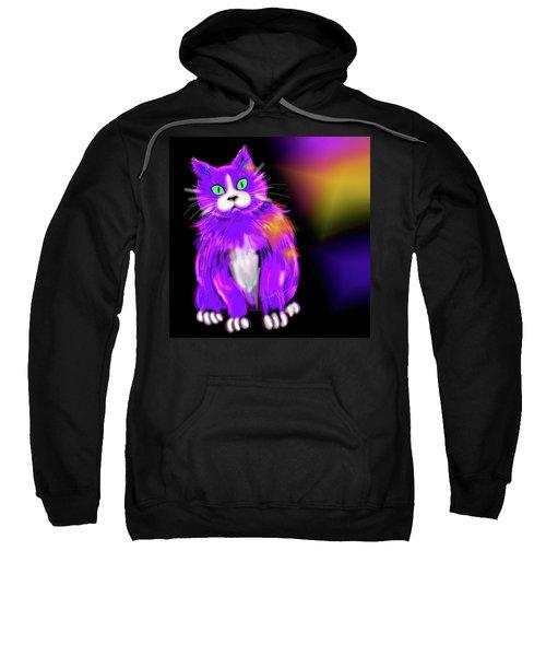 Violet Dizzycat Sweatshirt