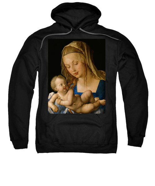 Virgin And Child With A Pear Sweatshirt