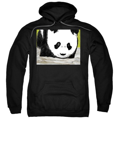 Vivi's Pet Panda Sweatshirt