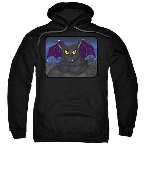 Vlad Vampire Cat Sweatshirt