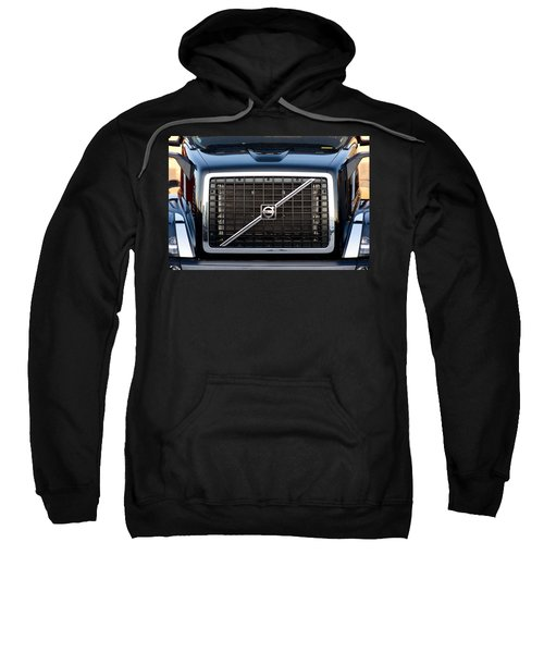Volvo Blk And Silver Sweatshirt