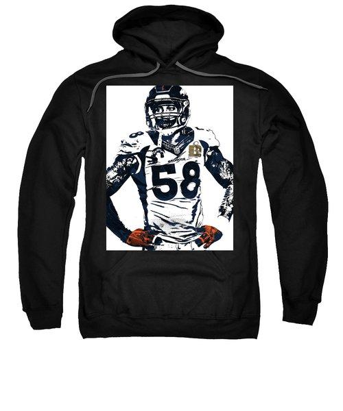 Von Miller Denver Broncos Pixel Art 2 Sweatshirt