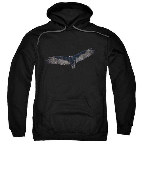 Vulture Over Olympus Sweatshirt by Nick Collins