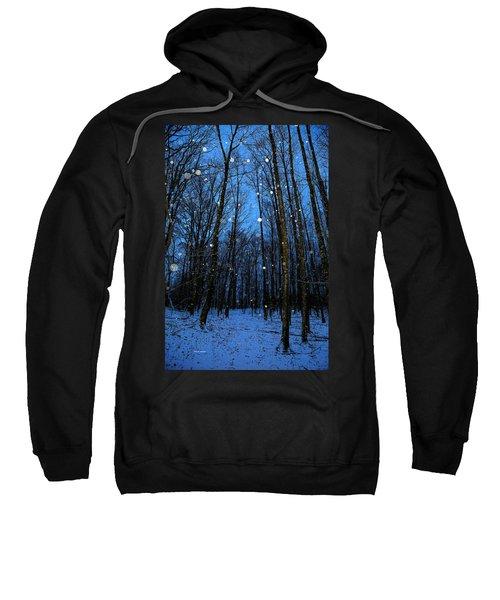 Walk In The Snowy Woods Sweatshirt