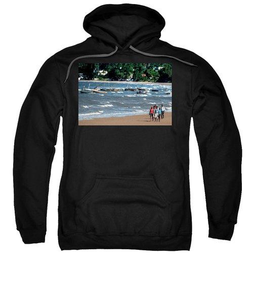 Walking On Ketembe Beach Sweatshirt