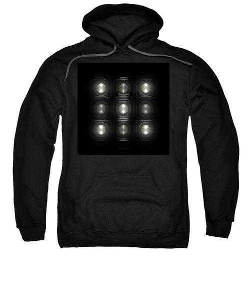 Wall Of Roundels 3x3 Sweatshirt