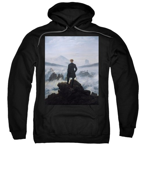 Wanderer Above The Sea Of Fog Sweatshirt