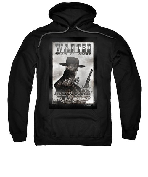 Wanted Poster Notorious Outlaw Sweatshirt