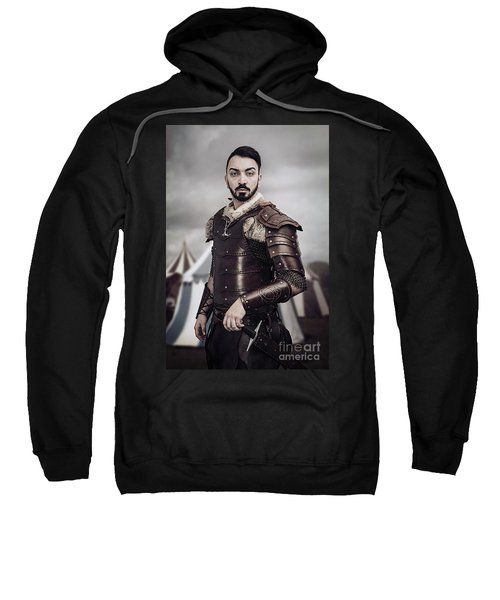 Warrior In Field Sweatshirt