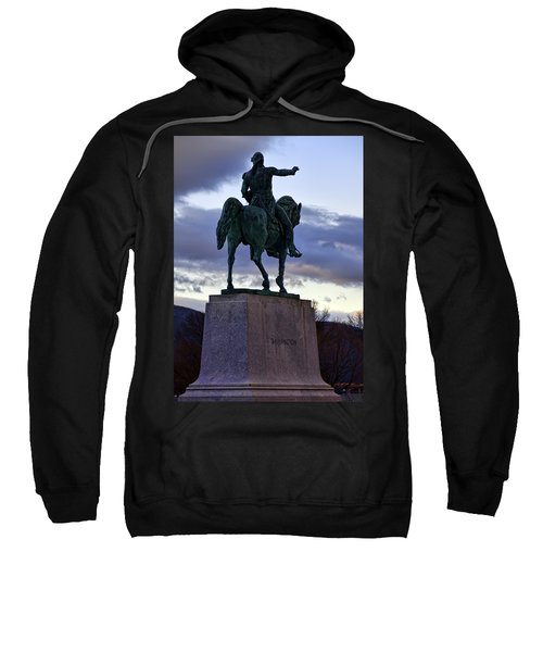 Washington Monument At West Point Sweatshirt
