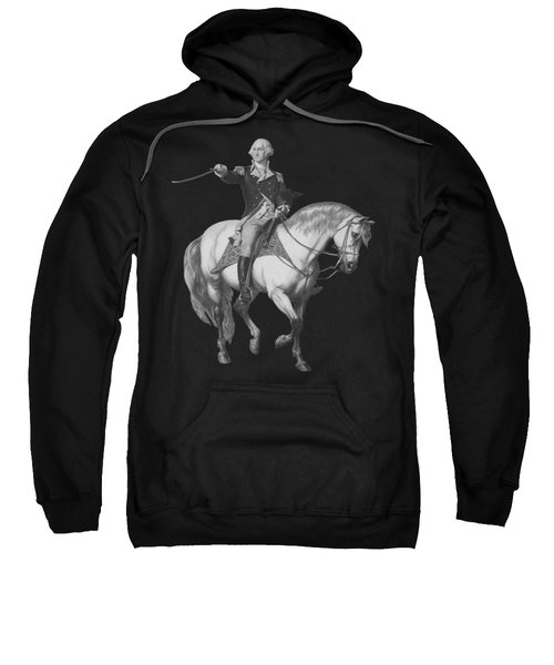 Washington Receiving A Salute At Trenton Sweatshirt