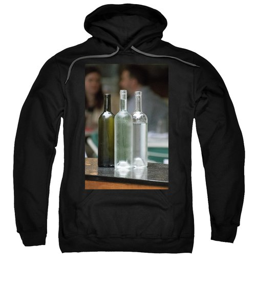 Water Bottles At The Brasserie No 1 Sweatshirt