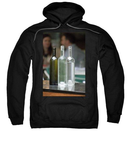 Water Bottles At The Brasserie No 1 Sweatshirt