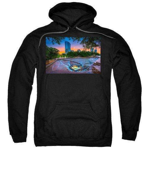 Water Gardens Sunset Sweatshirt