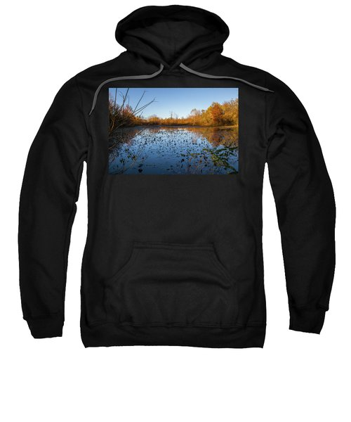 Water Lily Evening Serenade Sweatshirt