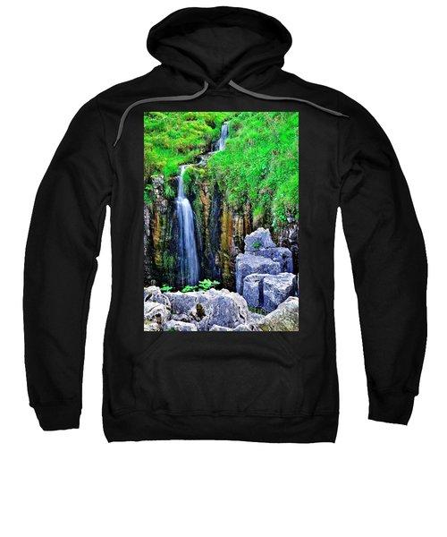 Waterfall At The Buttertubs, Swaledale Sweatshirt
