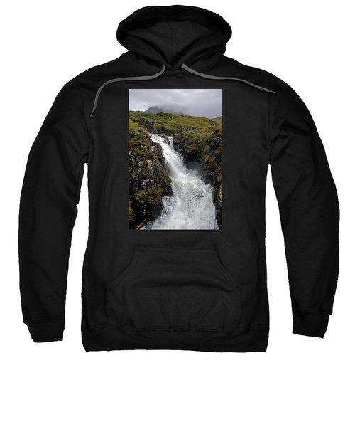 Waterfall In Isle Of Skye Sweatshirt