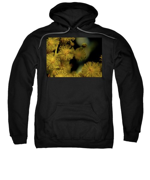 Wattle Flowers Sweatshirt