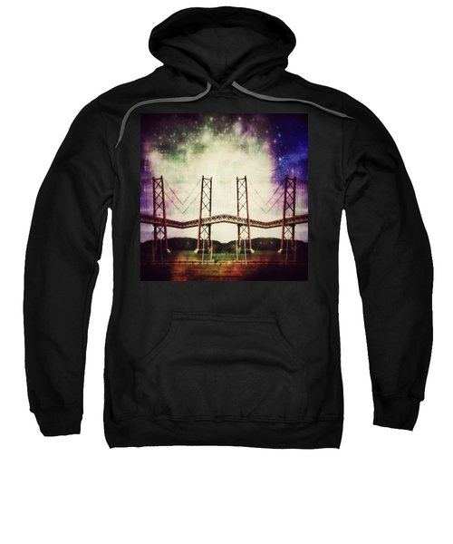 Way To The Stars Sweatshirt by Jorge Ferreira