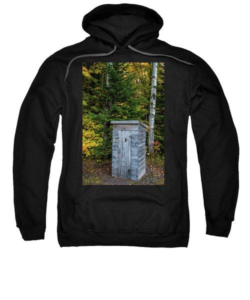 Weathered Outhouse Sweatshirt