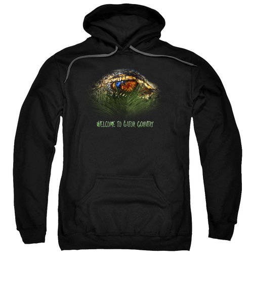 Welcome To Gator Country Design Sweatshirt