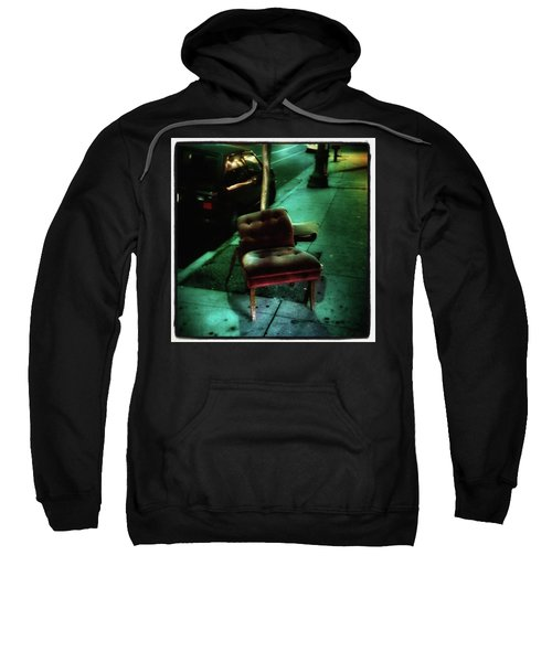 Sweatshirt featuring the photograph Welcome To My Living Room, Pull Up A by Mr Photojimsf