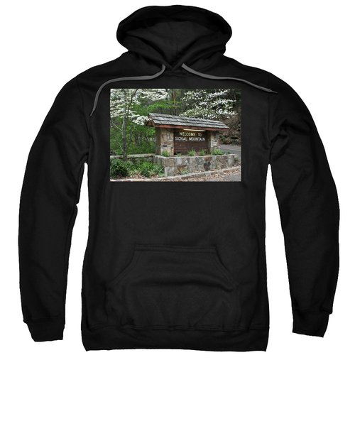 Welcome To Signal Mountain Spring Sweatshirt