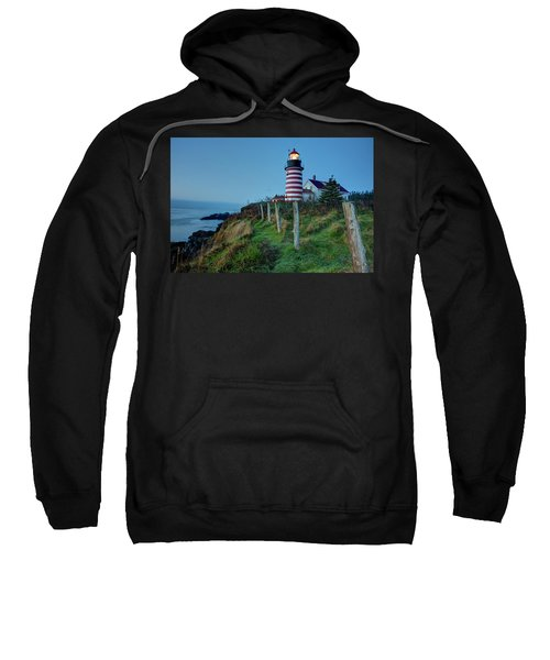 West Quoddy Head Light Sweatshirt
