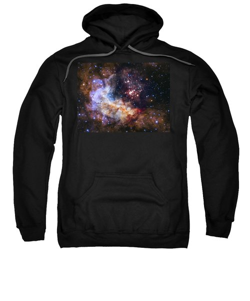 Westerlund 2 - Hubble 25th Anniversary Image Sweatshirt