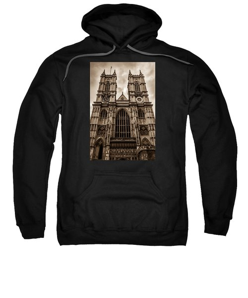 Westminister Abbey Sepia Sweatshirt