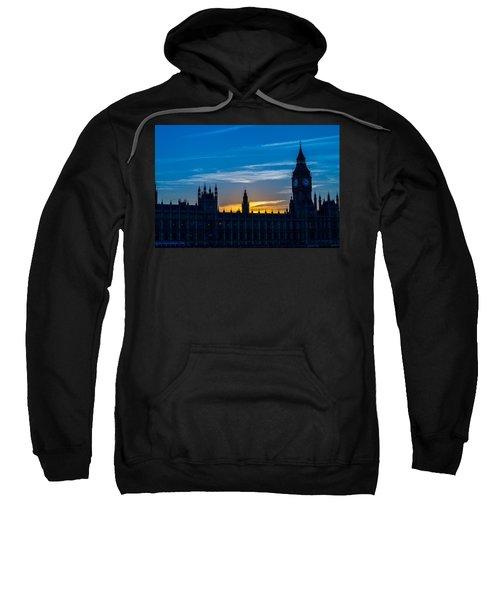 Westminster Parlament In London Golden Hour Sweatshirt