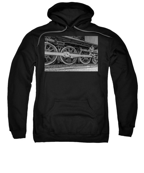 Wheels On A Locomotive Sweatshirt