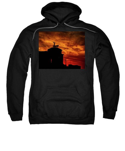 While Rome Burns Sweatshirt