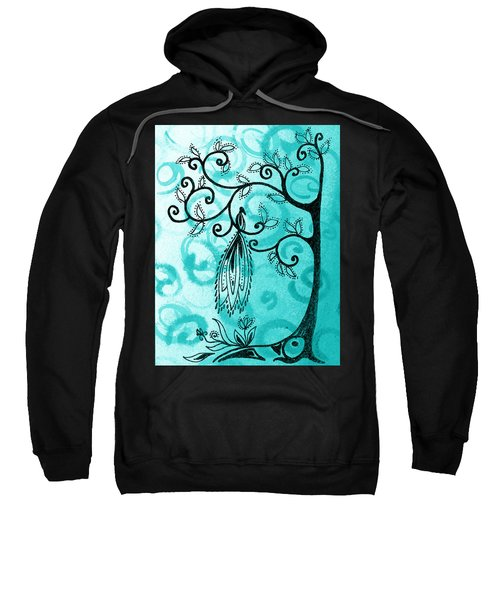Whimsical Tree And Magical Bird Sweatshirt