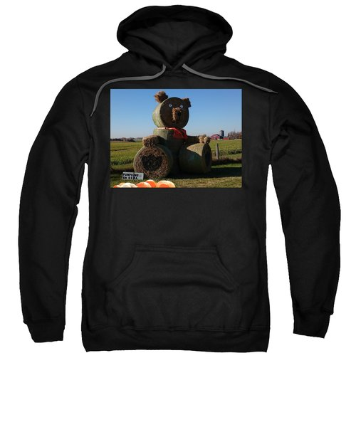 Sweatshirt featuring the photograph Whistle Bear Harvest by Hanne Lore Koehler