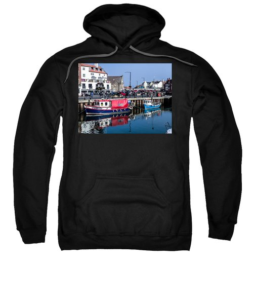 Whitby Harbor, United Kingdom Sweatshirt