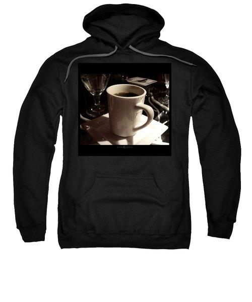 White Cup Sweatshirt