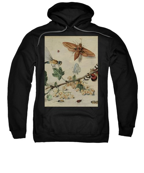 White Currants And Insects Sweatshirt
