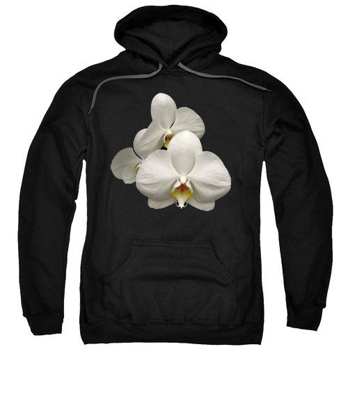 White Orchids Sweatshirt