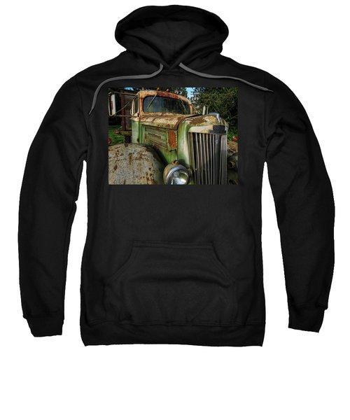 White Super Power Truck Sweatshirt