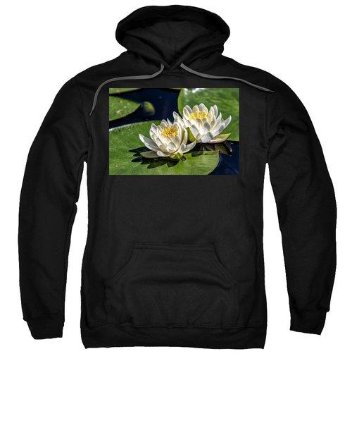 White Water Lilies Sweatshirt
