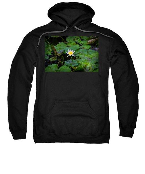 White Water Lily Sweatshirt