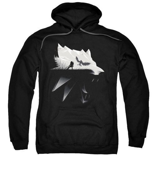 White Wolf - Minimalist Sweatshirt