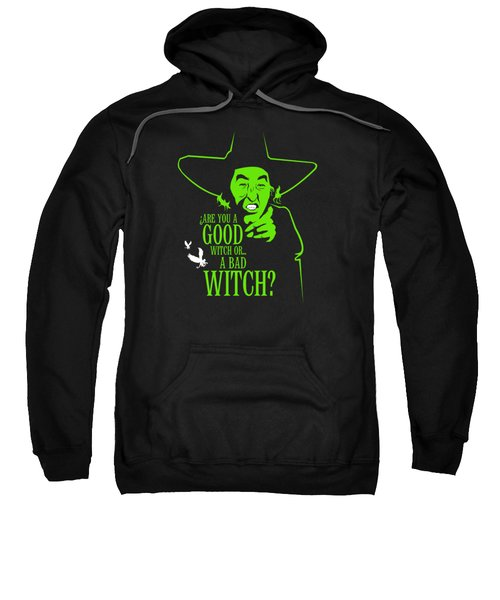 Wicked Witch Of West Sweatshirt by Mos Graphix