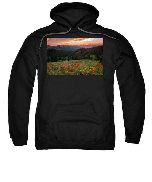 Wildflowers At Gaurdsmans Pass Sweatshirt