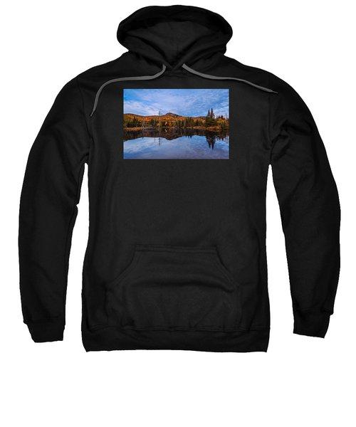 Wildlife Pond Autumn Reflection Sweatshirt
