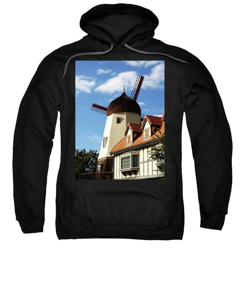 Windmill At Solvang, California Sweatshirt
