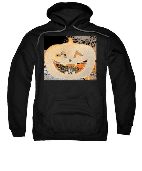 Window Pumpkin #3 Sweatshirt