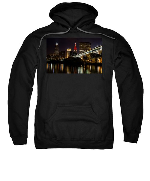 Wine And Gold In Cleveland Sweatshirt